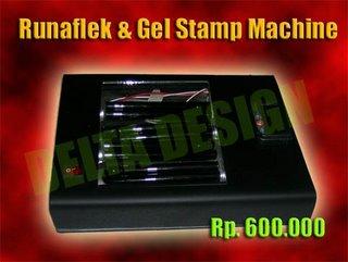 rubber stamp machine indo stamp